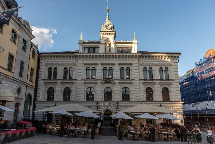 Uppsala Stora torget: Rådhuset