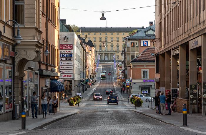 Uppsala Drottninggatan Carolina Rediviva