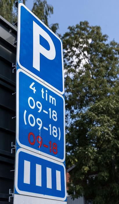 Sigtuna Parkplatz