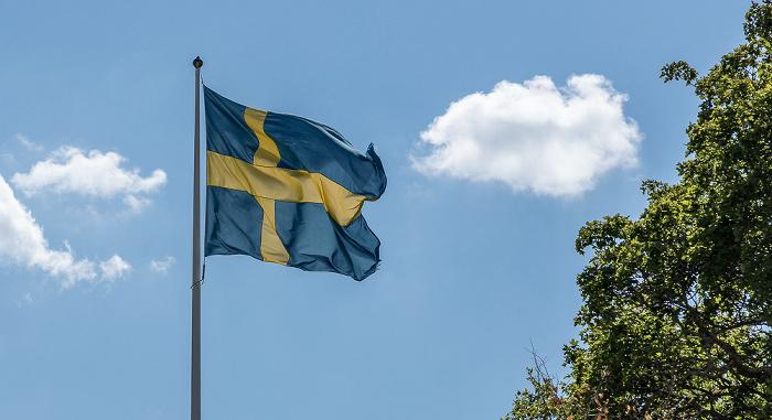 Skokloster Schwedische Flagge