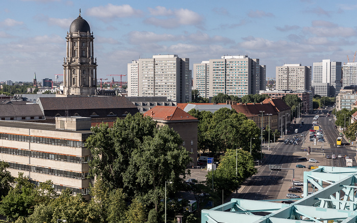 Blick aus dem Motel One Alexanderplatz: Altes Stadthaus Berlin