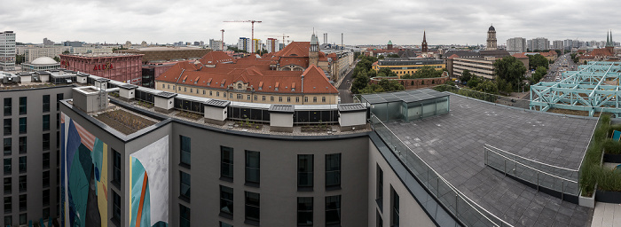 Blick aus dem Motel One Alexanderplatz Berlin