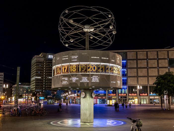 Alexanderplatz: Urania-Weltzeituhr Berlin