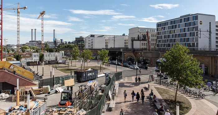 Blick aus dem Alexa Berlin