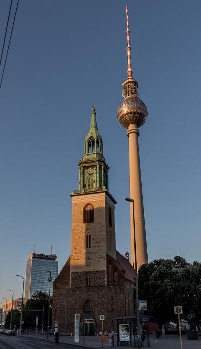Marienkirche, Fernsehturm Berlin