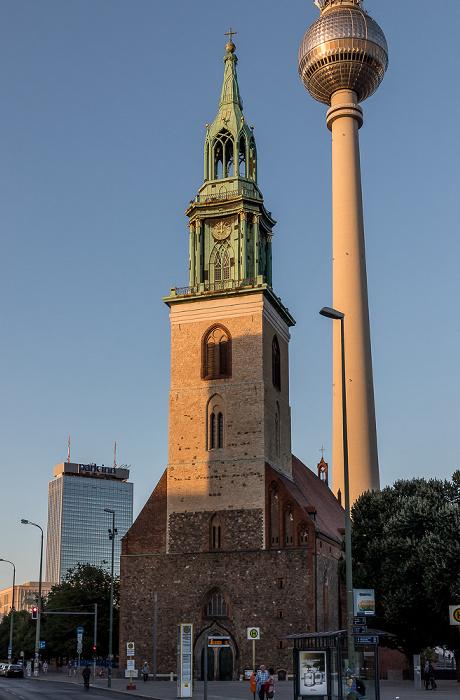 Marienkirche, Fernsehturm Berlin 2018