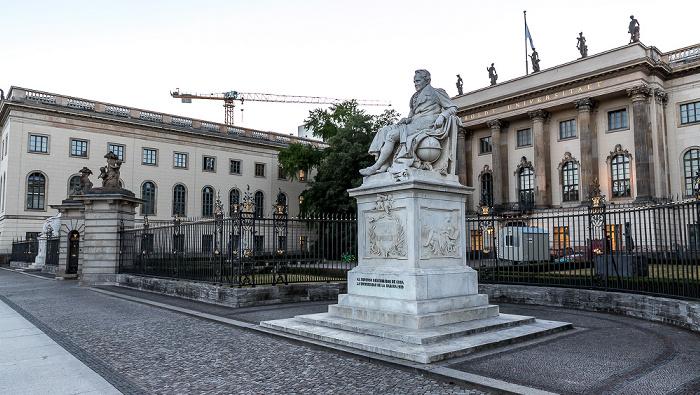 Unter den Linden: Humboldt-Universität Berlin