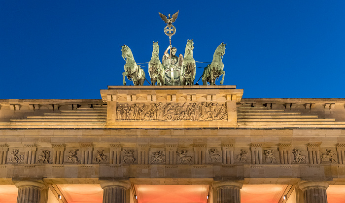 Brandenburger Tor: Quadriga Berlin 2018