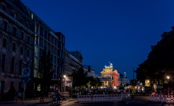 Ebertstraße, Brandenburger Tor Berlin