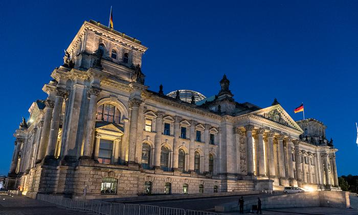 Reichstagsgebäude Berlin 2018