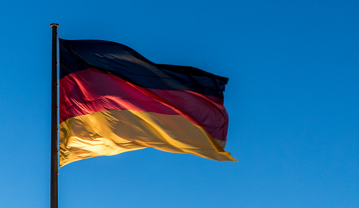 Berlin Deutsche Flagge