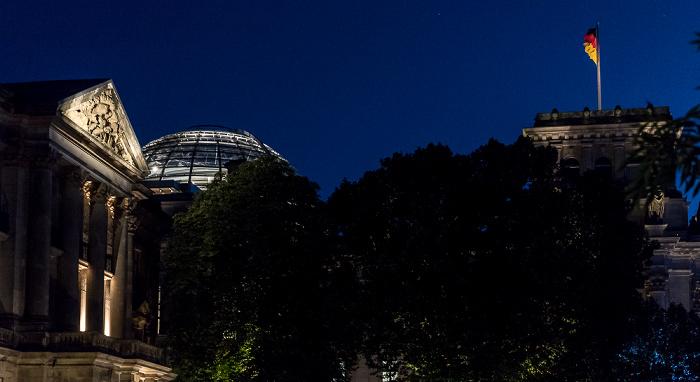 Reichstagspräsidentenpalais, Reichstagsgebäude Berlin