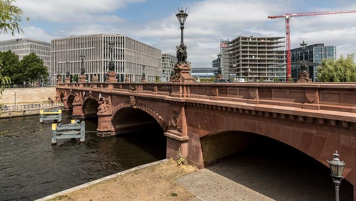 Spree, Moltkebrücke Berlin