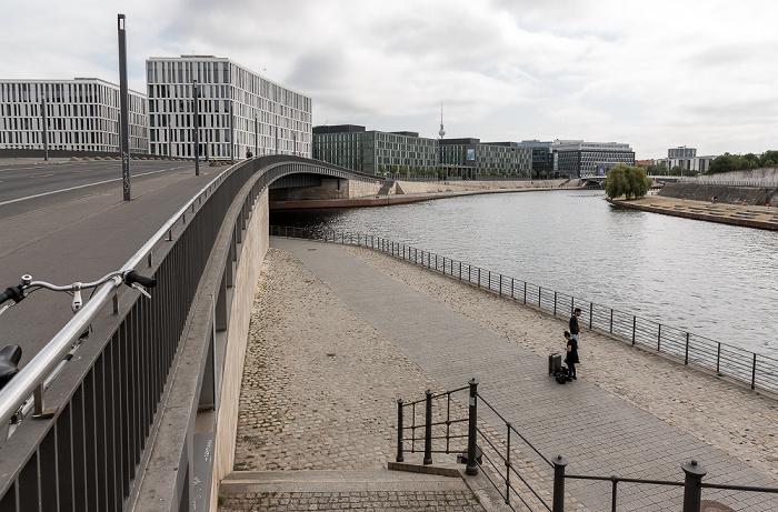 Hugo-Preuß-Brücke, Spree Berlin