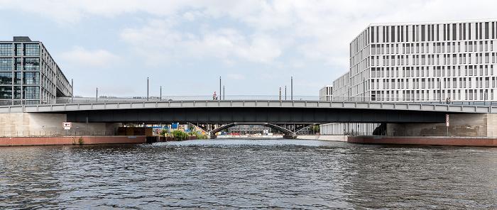 Spree, Hugo-Preuß-Brücke, Humboldthafen Berlin