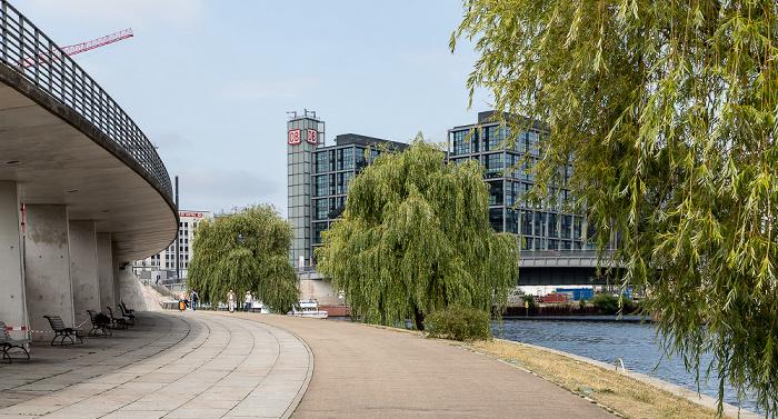 Ludwig-Erhard-Ufer, Spree, Hauptbahnhof Berlin