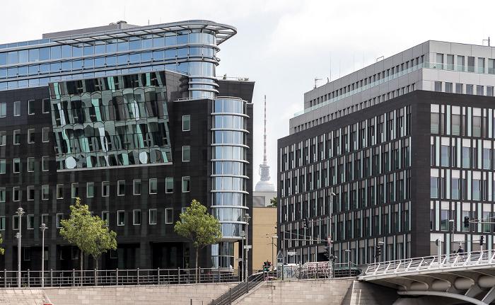 Kapelle-Ufer, Bürogebäude Spree-Eck, Haus der Bundespressekonferenz Berlin