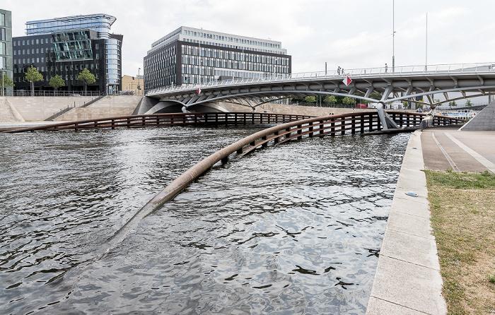 Spree, Kronprinzenbrücke Berlin