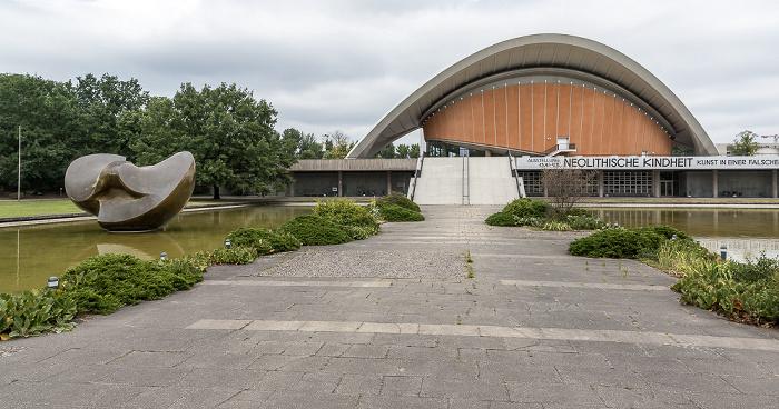 Tiergarten: Kongresshalle (Haus der Kulturen der Welt) Berlin 2018