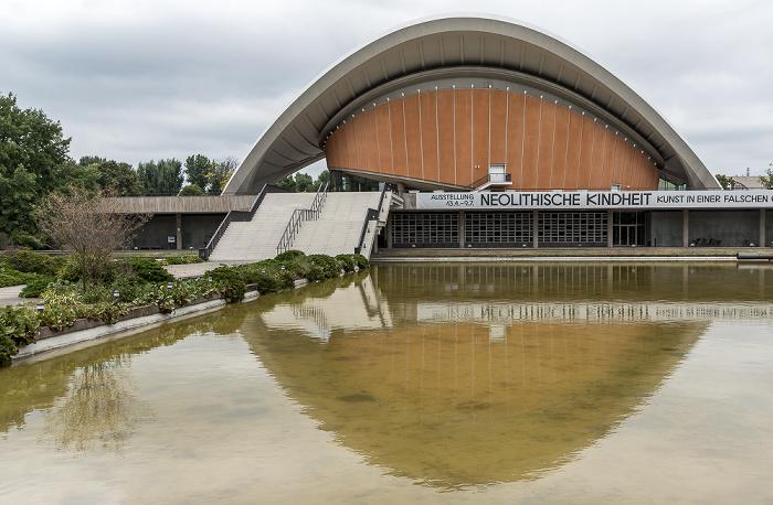 Berlin Tiergarten: Kongresshalle (Haus der Kulturen der Welt)