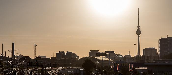 Blick von der Warschauer Brücke Berlin
