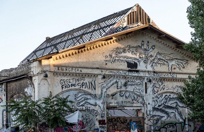 Friedrichshain: Ehem. Reichsbahnausbesserungswerk Berlin