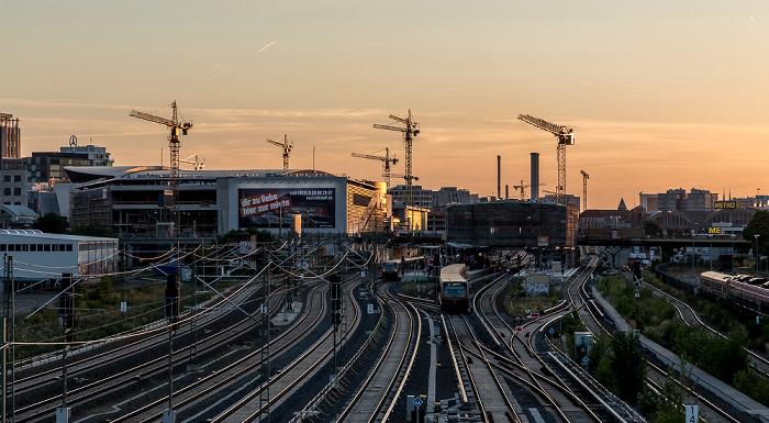 Blick von der Modersohnbrücke: Friedrichshain Berlin