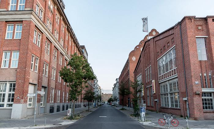 Friedrichshain: Oberbaum City - Rudolfstraße / Ehrenbergstraße Berlin