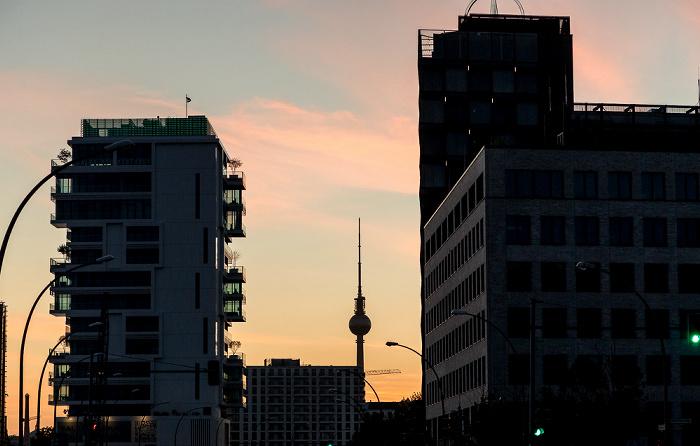Friedrichshain: Mühlenstraße Berlin
