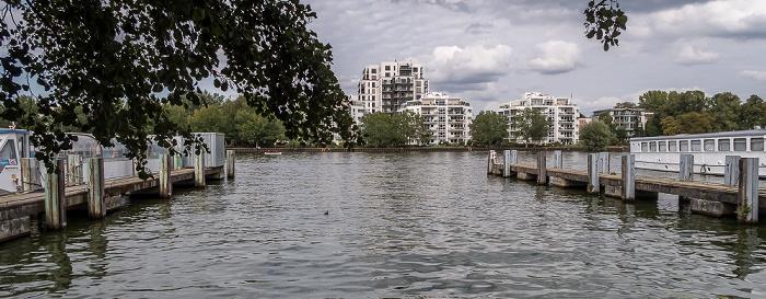 Alt-Treptow: Hafen Treptow, Spree, Stralau Berlin