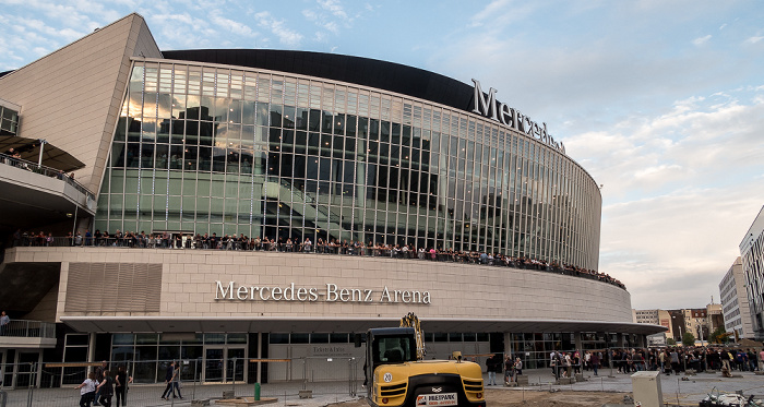 Mercedes-Benz Arena Berlin 2018