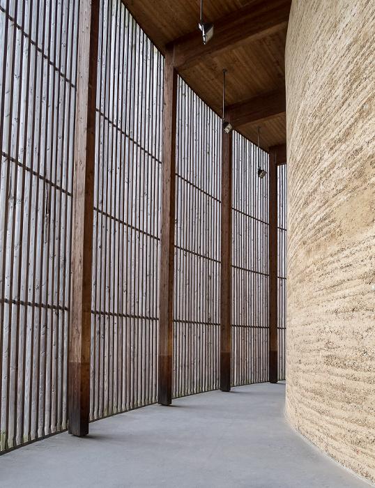 Gedenkstätte Berliner Mauer an der Bernauer Straße: Kapelle der Versöhnung Berlin