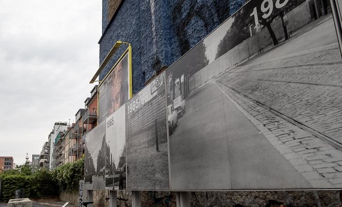 Postenweg der Berliner Mauer an der Bernauer Straße Berlin