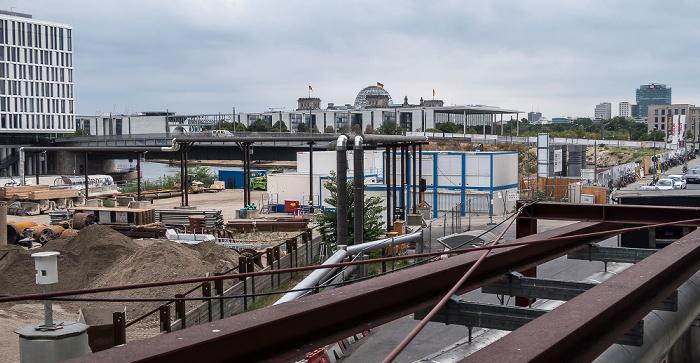 Baustelle am Hauptbahnhof Berlin
