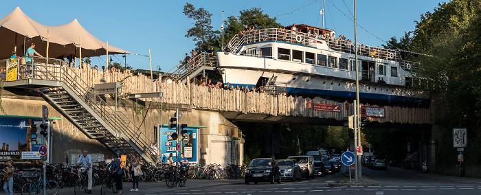 Eisenbahnbrücke Lagerhausstraße: Alte Utting München