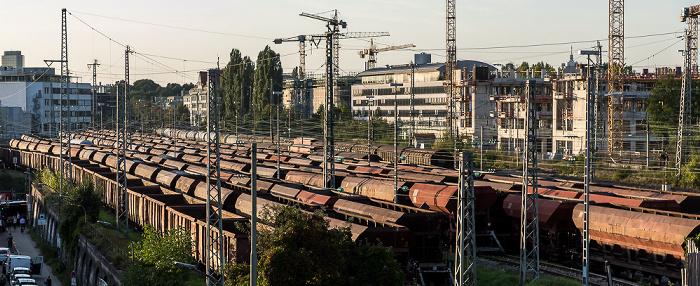 Blick von der Alten Utting: Güterbahnhof München-Süd München