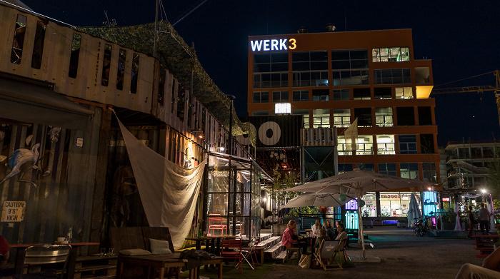 München Werksviertel Mitte: Container Collective
