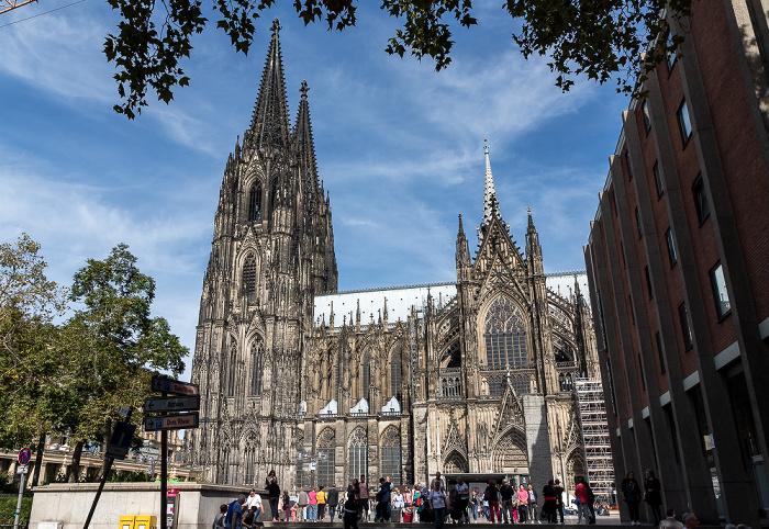 Roncalliplatz, Kölner Dom Köln 2018