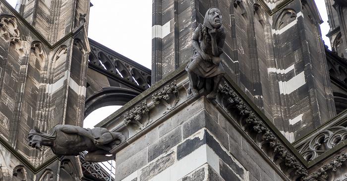 Kölner Dom: Wasserspeier