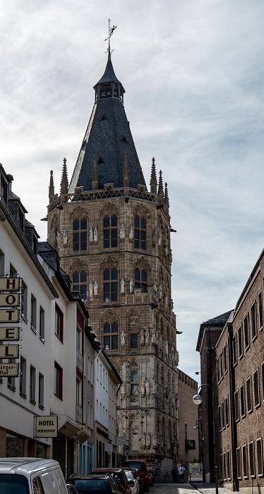 Altstadt: Bürgerstraße, Kölner Rathaus Köln 2018