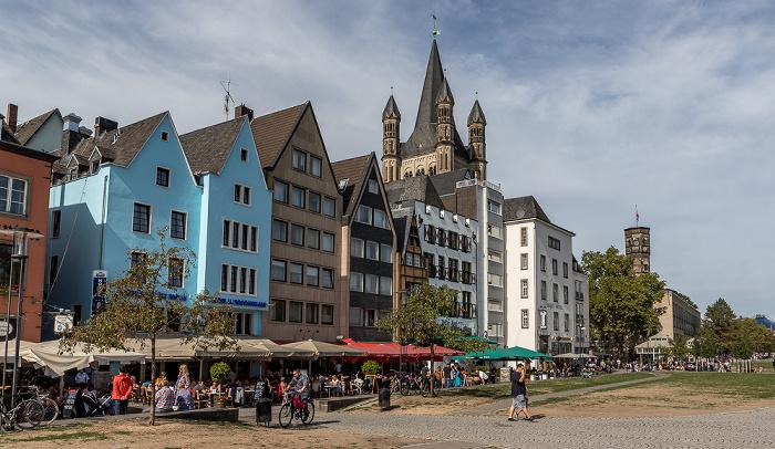 Altstadt: Rheingarten Köln 2018