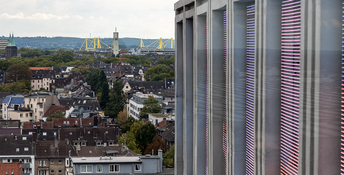 Blick vom Dortmunder U