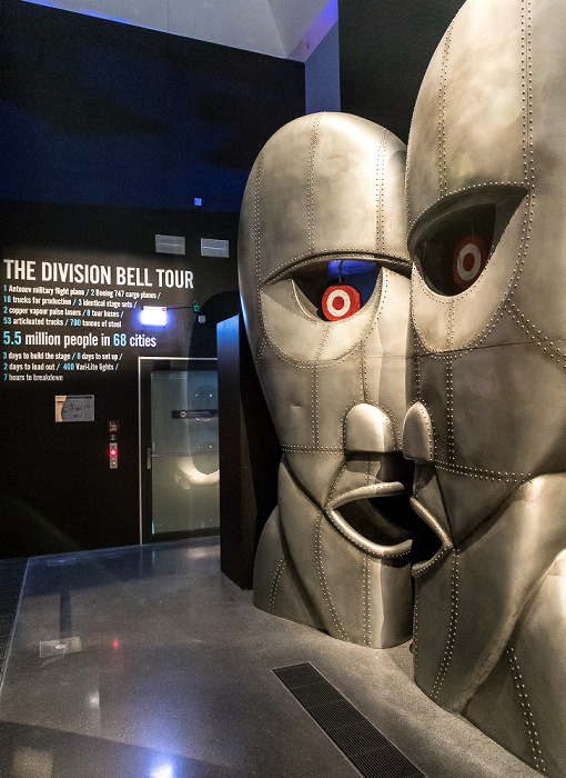Dortmunder U: The Pink Floyd Exhibition Their Mortal Remains - The Division Bell