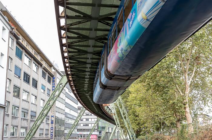 Elberfeld: Wuppertaler Schwebebahn