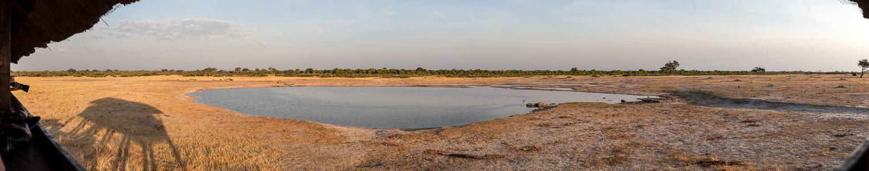 Hwange National Park Nyamandhlovu Pan Hide