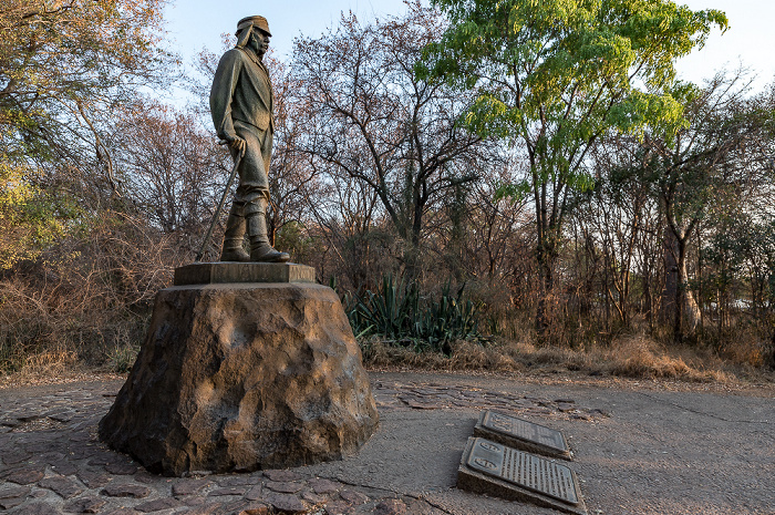 Victoria Falls National Park David-Livingstone-Denkmal