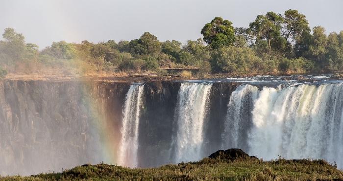 Victoria Falls National Park Victoriafälle, Regenbogen