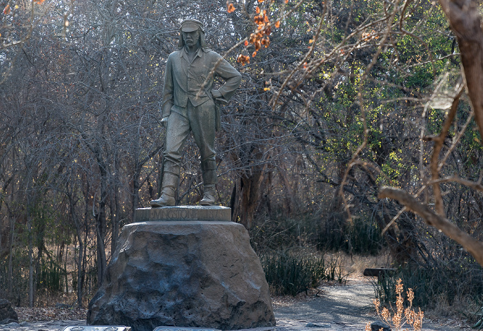 Victoria Falls National Park David-Livingstone-Denkmal