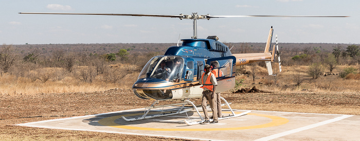 Victoria Falls Helipad Bonisair Helicopter: Bell 206L-3 LongRanger III