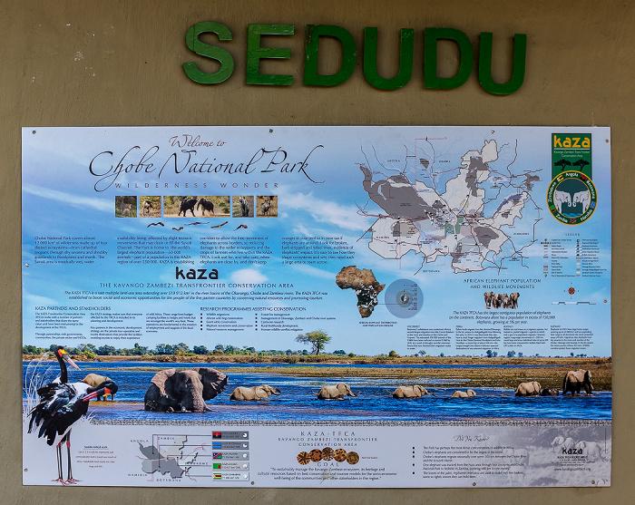Chobe National Park Sedudu Gate